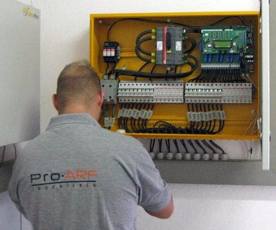 tecnico proarf mantenimiento instalaciones fotovoltaico